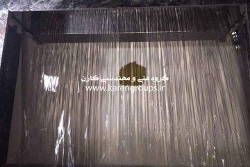 آبنمای پرده پیوسته آب 180 سانتیمتری برج تجریش تهران