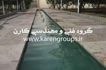 آبنمای قلزن ویلای شخصی در تهران